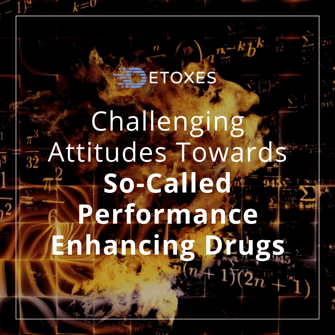 """Study Drugs"": Challenging Attitudes Towards Performance Enhancers"